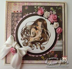 Adele, Make it Crafty Digi Stamp