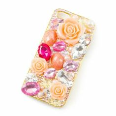 Carved Roses and Gems Cover for iPhone 5 and 5s