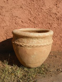Kahr Sahara Pot incl iron stand  € 29.- Terracotta, Planter Pots, Iron, Terra Cotta, Steel