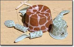 Sea Turtle puppet   Great idea for a class after looking at threats to turtles or any animal really.