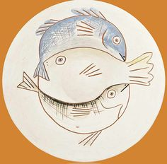 Picasso Fish Plate