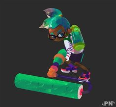 Splatoon concept art