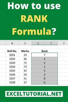 How to use rank formula 101 computer shortcut keys to upgrade your efficiency at work Technology Hacks, Computer Technology, Energy Technology, Computer Tips, Medical Technology, Computer Programming, Excel Tips, Excel Hacks, Microsoft Excel Formulas