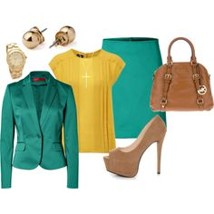"""""""Green & Yellow"""" by lisa-eurica on Polyvore"""