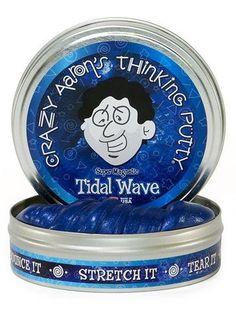 Tidal Wave Crazy Aaron's Thinking Putty, Super Magnetics – Fidget Club