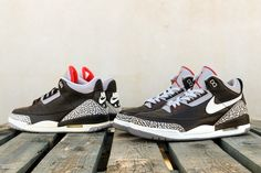 2a69ca9f7d2dba BespokeIND Debuts the Tinker Hatfield Nike Air Jordan 3 Black Cement Sample