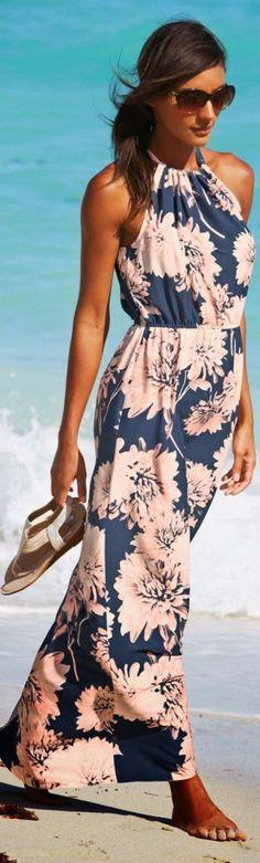 vestido florido - floral dress