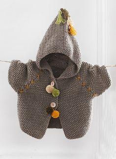 Mag. 170 - n° 32 - Manteau à capuche Modèles, broderie & tricot Achat en ligne