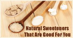 4 Natural Sweeteners That Are Good For You
