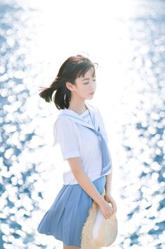 Cute School Uniforms, Japanese Photography, Pose Reference Photo, Human Poses, Cute Japanese Girl, Cosplay, Japan Girl, Foto Pose, Female Poses
