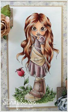 Spring: Skin: E11-21-00-000-R20-R11 Hair: E57-55-53-51 Dress: V99-95-93-91-RV000 Shoes: E75-71-70 Rose: R89-85-83-81 Grass: G99-94-21-20 Sky: B0000