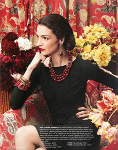 Neiman Marcus Cataloge tear sheets with Jose and Maria Barrera jewelry Starburst Earrings, Gold Statement Earrings, Neiman Marcus Christmas Book, Bold Jewelry, Bead Jewellery, Jewelry Art, Jewlery, Cultured Pearl Necklace, Stone Necklace