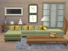 Via Sims4Updates : Palette Livingroom at Nikadema Designs.