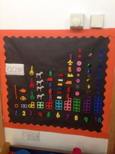 Numicon- be great on magnetic board...