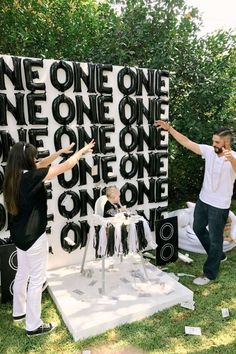 You Only Live One(ce): Texas parents throw their son the most gangster YOLO first birthday party Music Theme Birthday, First Birthday Party Themes, Birthday Themes For Boys, Boy Birthday Parties, Boy Theme Party, Dance Party Birthday, Theme Parties, 1 Year Old Birthday Party, Boys First Birthday Party Ideas