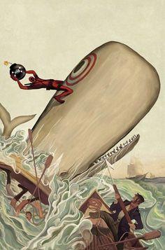 """» """"Deadpool Killustrated"""": Wade im Mashup mit klassischer Literatur von Mike del Mundo   Minds Delight"""