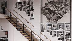 J'adore cette photo de @decofr ! Et vous ? (Source : http://www.deco.fr/photos/diaporama-10-murs-cadre-escalier-d_4228)