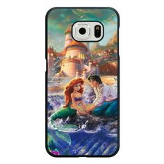 Amazon.com: Galaxy S6 Case, Customized Black Hard Plastic Galaxy S6 Case, Disney Princess The Little Mermaid Galaxy S6 Case(Not Fit Galaxy S6 Edge): Cell Phones & Accessories