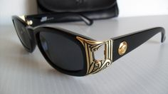 VINTAGE NEW NEVER WORN 1990's GIANNI VERSACE 482 MEDUSA SUNGLASSES WITH CASE #GIANNIVERSACE #Designer