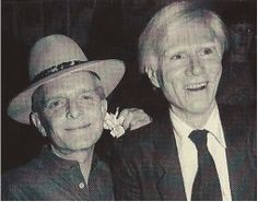 Truman Capote & Andy Warhol at Studio 54 Andy Warhol, Keith Allen, 70s Icons, Paint Photography, Hollywood, Studio 54, Street Culture, American Artists, Art World
