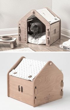 Designer Onurhan Demir of WeelyWally has created a collection of modern pet furniture that can be enjoyed by both cats and dogs. # Pets furniture Modern Pet Furniture - Houses, Couch, And Feeder Phuket, Modern Dog Houses, Cat Playground, Cat Room, Pet Furniture, Pet Home, Pet Memorials, Animal House, Diy Stuffed Animals