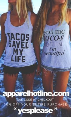 That one time tacos saved our lives <3