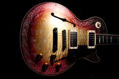 LES PAUL FOUR ROSES FIGURED IHash Guitar
