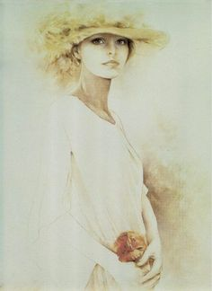 by Sara Moon  (this woman in the portrait looks amazingly like Cheryl Ladd in her younger days)