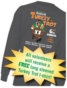 2013 Turkey Trot T-Shirt - 6 Reasons Your Family Should Make the Wisconsin Festival Foods Turkey Trot a Thanksgiving Tradition