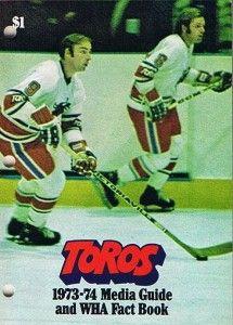 1973-74 Toronto Toros Media Guide