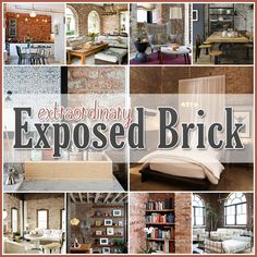 Exposed Brick Decor