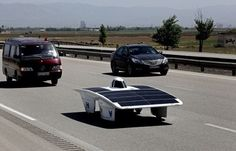 "Iran's Solar Car Becomes the Best Foreign Car Racing in America  ""HAVIN 2"", a solar car built by engineering students at #Iran's Qazvin Azad University was chosen as the best foreign car participating in the 2014 American Solar Challenge, a Solar Car Race that began July 20 in Austin, #Texas  #Qazvin Azad University's team finished the American #Solar Challenge in Eighth place overall among 33 teams."