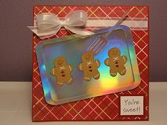 I love the baking tray with these Gingerbread men... cute!