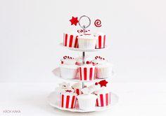 Jul cupcakes - pepparkakscupcakes