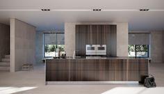 SieMatic PURE in smoaked oak
