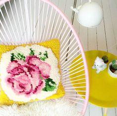 pink + yellow + white