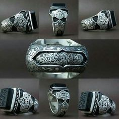 One of the most beautiful islamic mens signet rings I have seen so far