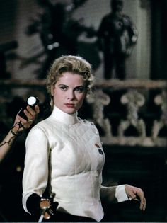 The Swan (1956) Grace Kelly as princess Alexandra ... and yes she is lethal