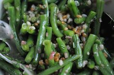 Green Bean, Wheatberry and Barley Salad, a recipe on Food52
