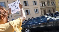 The Vermont senator brings his populist message to Vatican City.
