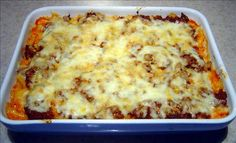 Easy Mac and Cheese Lasagna from Food.com:   Macaroni and Cheese with a twist