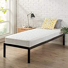 Zinus 14 Inch Smartbase Mattress Foundation Cot Size 30 X 75 Platform Bed Frame Box Spring Replacement Narrow Twin All4hiking Com Bed Frame Mattress Platform Bed Frame Bed Frame