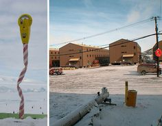 Great Scott! Here's the world's most southerly parking meter, in the parking lot – yes, they have one – at McMurdo Station in Antarctica. There's no explanation for the oddly twisted pole it's mounted on… perhaps a wayward polar bear used it as a scratching post. 15 Creative, Innovative & Hilarious Parking Solutions