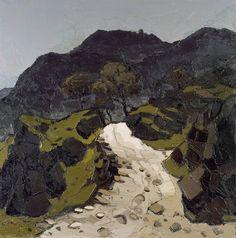 Path below Crib Goch  by Kyffin Williams        Date painted: 1970–1990