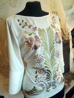 lovely hand embroidered blouse