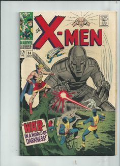 UNCANNY X-MEN #34 Grade 6.5 Silver Age find from Marvel Comics!! http://r.ebay.com/9nR6PV