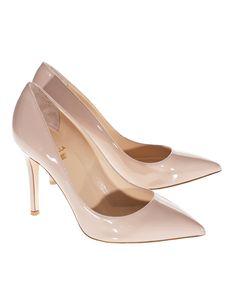 Need: Nude pumps with nice heel