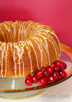Cranberry-Orange Bundt Cake   Tutti Dolci