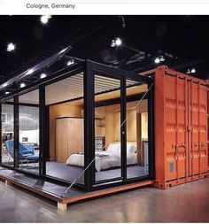 Modern Shipping Container Homes Container Homes For Sale, Container Office, Shipping Container Homes, Container Cafe, Shipping Container Restaurant, Container Van House, Container Buildings, Container House Design, Building A Container Home