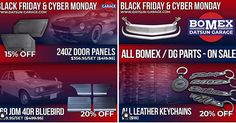 happening now! Sale ends today. Act now before its too late. Datsun 510, Panel Doors, Blue Bird, Jdm, Garage, Events, News, Photos, Carport Garage